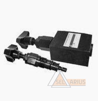 Фото клапана гидравлического переливного предохранительного трубного монтажа (комплект) DBD-H-10-K-210bar