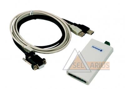 Адаптер сигналов ВЗЛЕТ АС исполнение USB-RS-232/485 фото 1