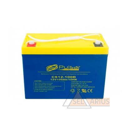Фото аккумуляторной батареи PULSAR CS12-100D