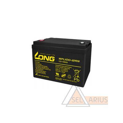 Фото аккумуляторной батареи WPL100-12RN