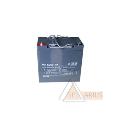Фото аккумуляторной батареи VIR-ELECTRIC, 75Ач