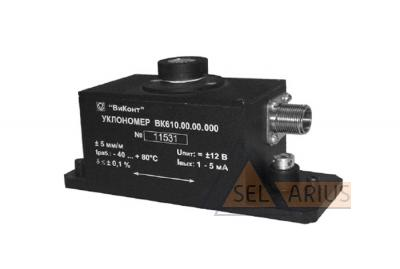 Датчик измерения угла наклона ВК-610 фото1