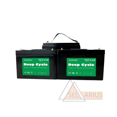 Аккумуляторные батареи АКБ EverExceed DP-12200, 200Ач - фото