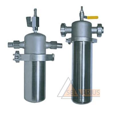 Фильтродержатели для очистки воздуха, газов и пара ДС-В, ДС-П - общий вид