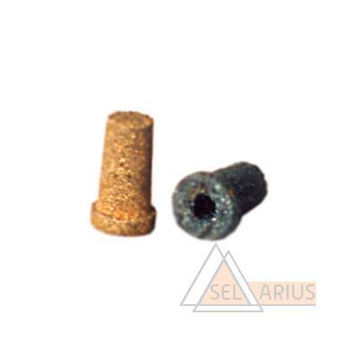 Фото фильтрующего элемента для газовых редукторов на основе SiC (99%) и бронзы