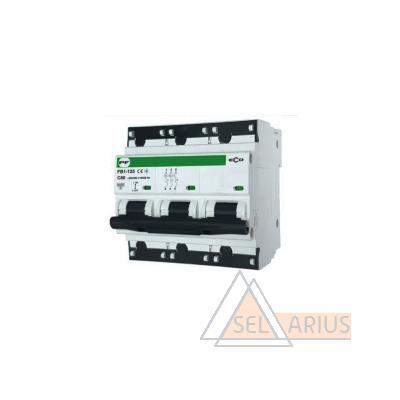 Модульный автоматический выключатель FB1-125 ECO 3P С125 - фото