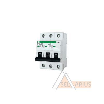 Модульный автоматический выключатель FB1-63 ECO 3P С1 - фото