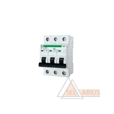 Модульный автоматический выключатель FB1-63 ECO 3P С3 - фото