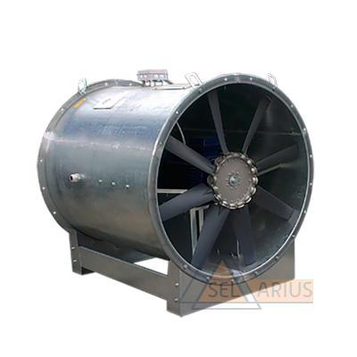 Фото вентилятора осевого энергоэффективного ОСА 300/ОСА 301