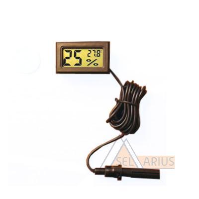 Фото гигрометра-термометра THD-1 с выносным датчиком
