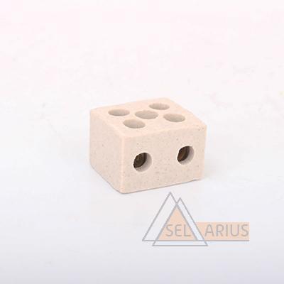 Керамические термостойкие клеммные колодки - фото