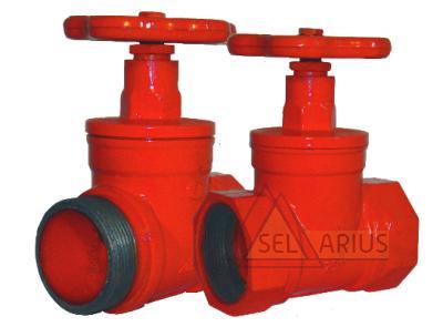 Клапаны пожарных кранов прямоточные КПК-65-1(180) КПК-65-2(180)  фото 1