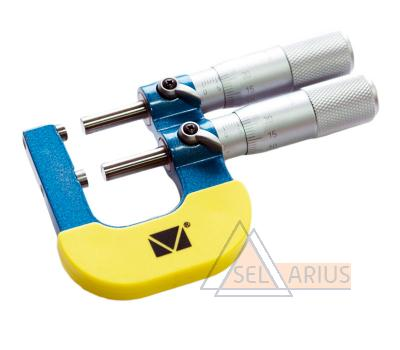 Микрометр предельный МКП (двушкальный)