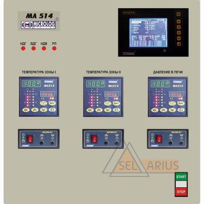 Cистема контроля и управления для печей отжига металлоконструкцийМЛ 514 - фото