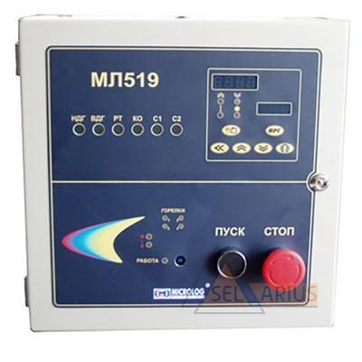 Система управления и сигнализации для сушильных барабанов МЛ 519 - фото