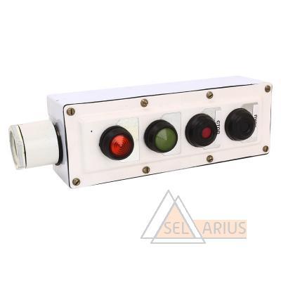 Пост управления кнопочный ПКУ-15-21 фото №1