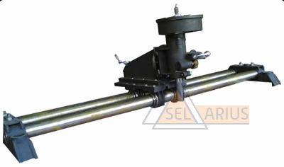 Приспособление для фрезеровки канавки под уплотнение на разъемах цилиндров турбин Т-01-62-00-00 - фото