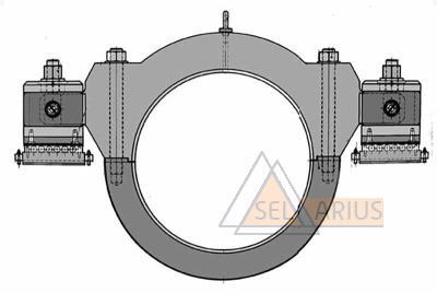 Приспособление для маятниковой проверки роторов 323.487 - фото