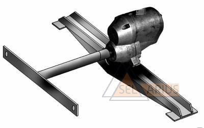 Приспособление для вращения роторов и борштанг Т-783 - фото
