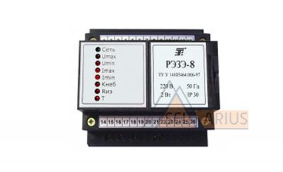 Реле электронное защиты электродвигателей РЭЗЭ-8 фото1