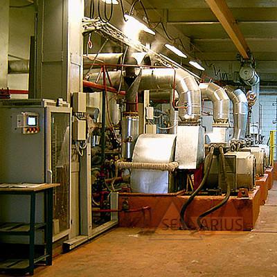 Фото стационарной системы контроля параметров вибрационного состояния
