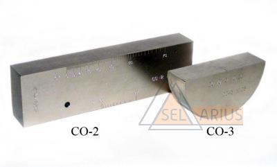 Фото стандартных образцов для ультразвукового контроля