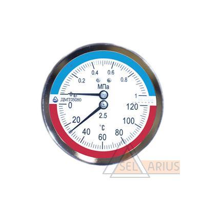 Термоманометр ДМТ фото 1