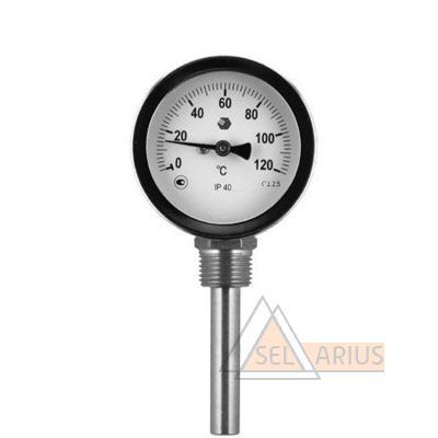 Фото термометра D63мм/L100мм-Р- ОСНОВА Т.2
