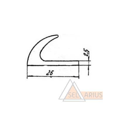 Уплотнение 328 РТМ32ЦВ206-80 - габаритный чертеж
