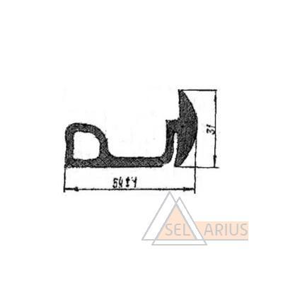 Уплотнение Т328.51.01.08 - габаритный чертеж
