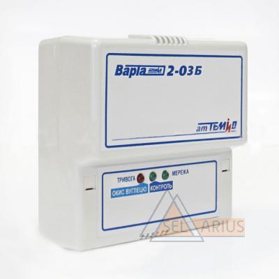 Сигнализатор газа ВАРТА 2-03Б  на метани окись углерода фото 1