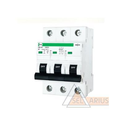 Модульный автоматический выключатель FB1-63 ECO 3P B1 - фото