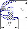 01.013.011 – уплотнение наружной окантовки окон салона фото 1