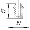 Уплотнение 10х17х5х4
