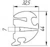 Уплотнитель лобового стекла для КТМ-8 фото 1